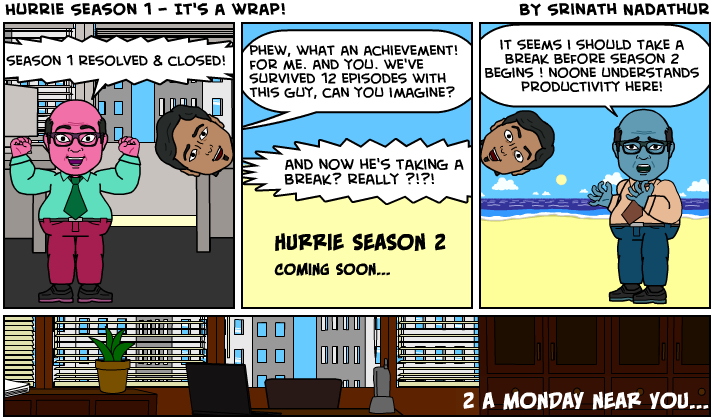 Hurrie Season 1 Wrap-Ip